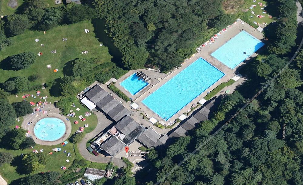 Schwimmbad und freibad schwelm